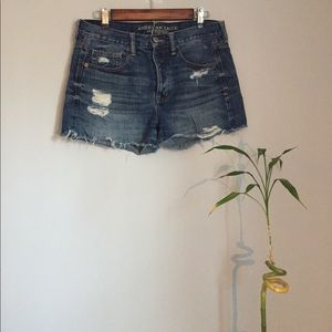 American Eagle frayed and stylish jean shorts